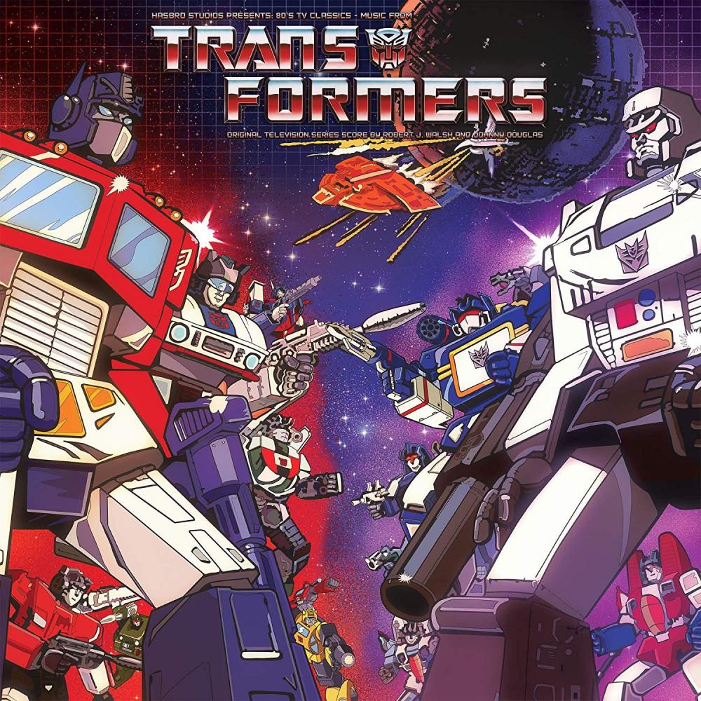 VINYLE TRANSFORMERS ORIGINAL TELEVISION SERIES NEW(ETT016)