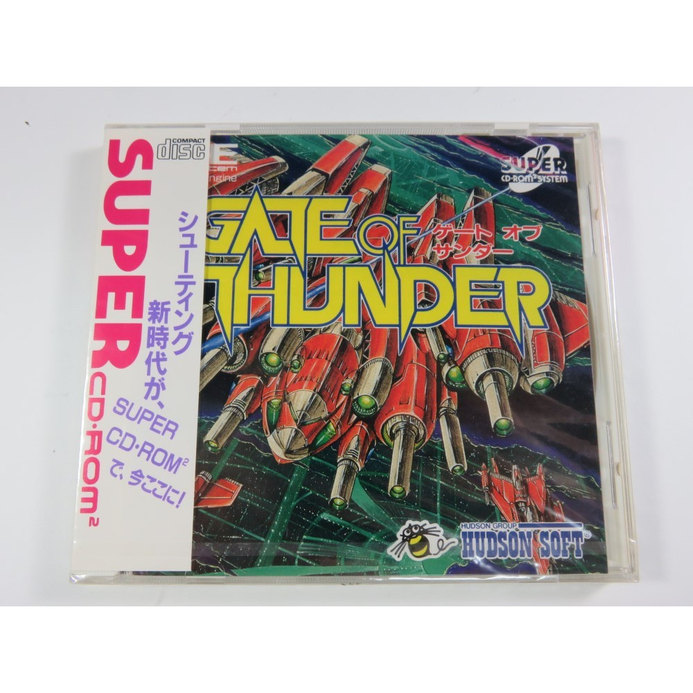 GATE OF THUNDER NEC SUPER CD-ROM2 JPN ORIGINAL NEW (SHOOT - HUDSON SOFT)