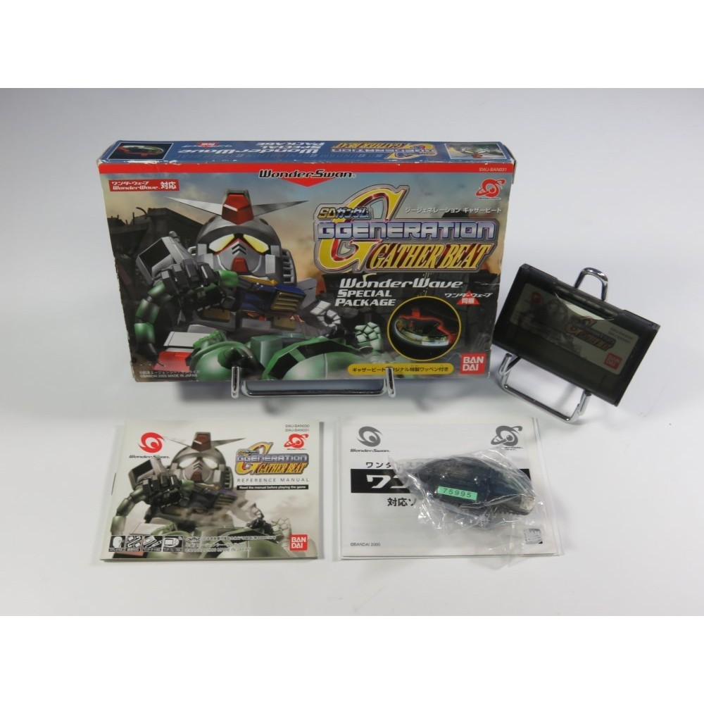 SD GUNDAM G GENERATION: GATHER BEAT WONDERWAVE EDITION WONDERSWAN JPN OCCASION