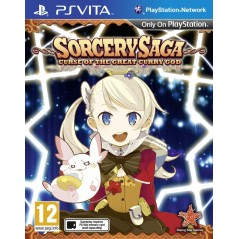 SORCERY SAGA CURSE OF THE GREAT CURRY GOD PSVITA UK OCCASION