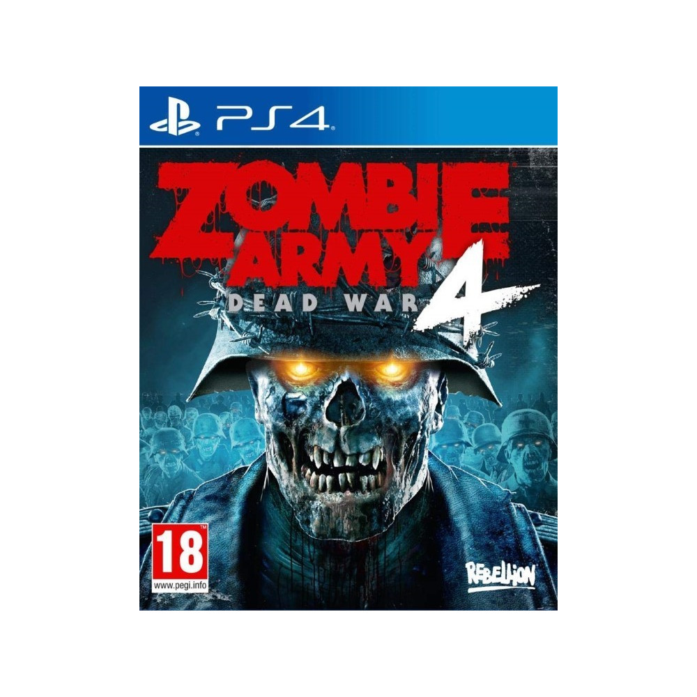 ZOMBIE ARMY 4 DEAD WAR PS4 FR NEW