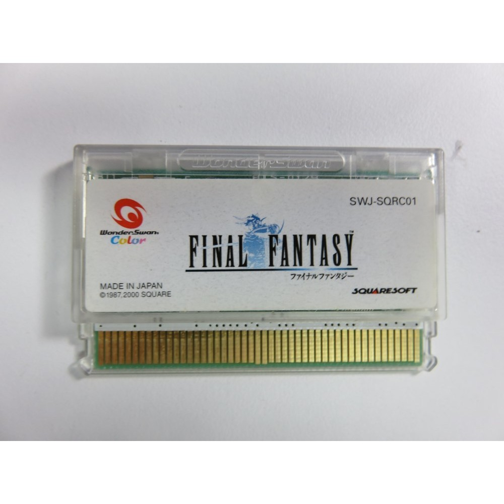 FINAL FANTASY WONDERSWAN JPN LOOSE