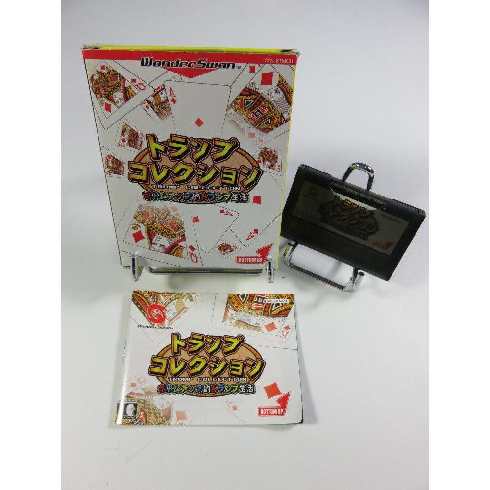 TRUMP COLLECTION-BOTTOM UP TEKI TRUMP SEIKATSU WONDERSWAN JPN OCCASION