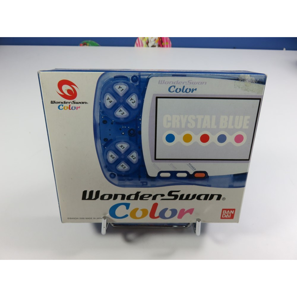 CONSOLE WONDERSWAN COLOR CRYSTAL BLUE JPN NEW