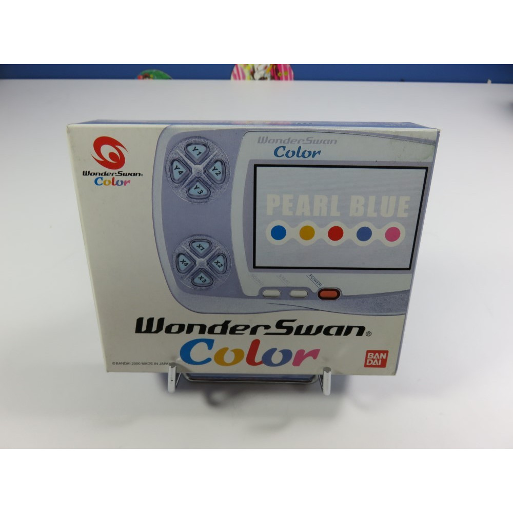 CONSOLE WONDERSWAN COLOR PEARL BLUE JPN NEW