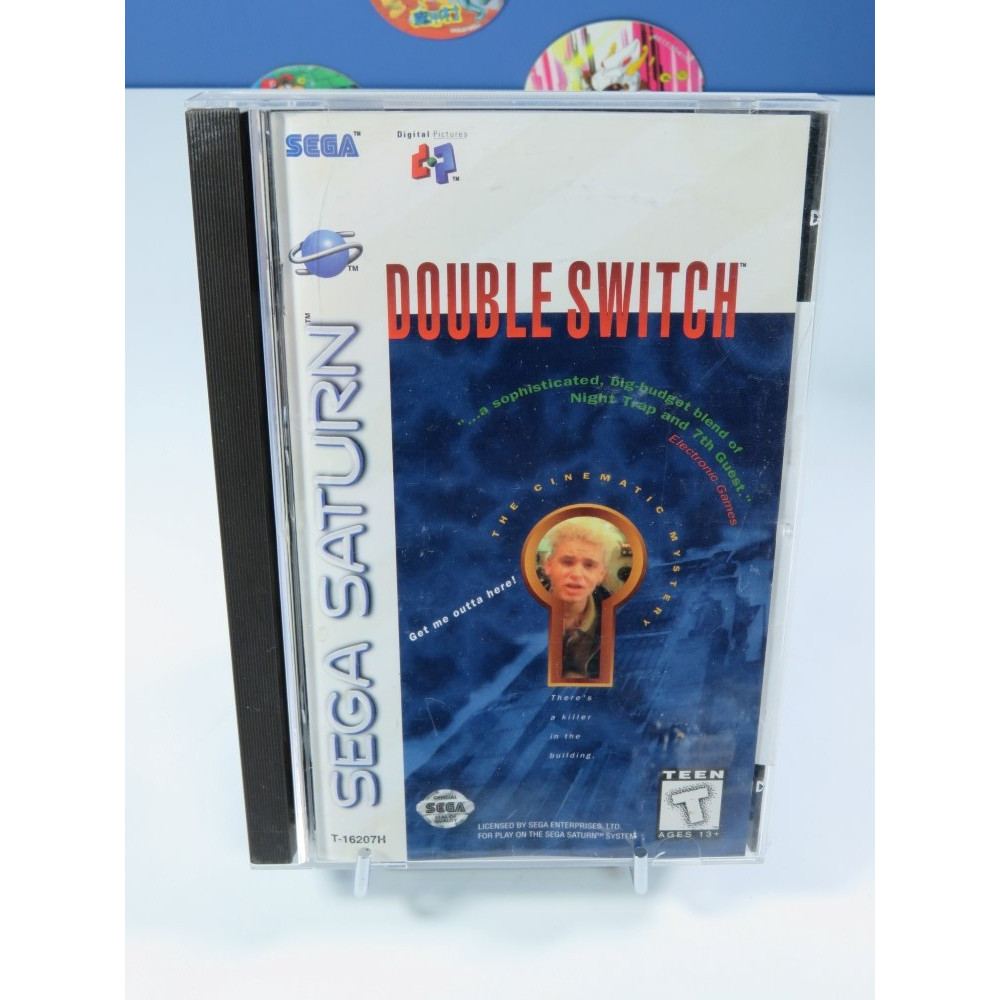 DOUBLE SWITCH THE CINEMATIC MYSTERY SATURN NTSC-USA OCCASION