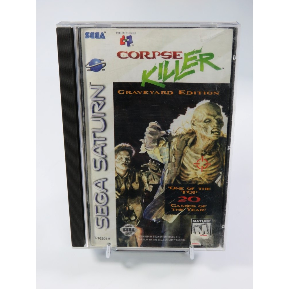 CORPSE KILLER GRAVEYARD EDITION SATURN NTSC-USA OCCASION