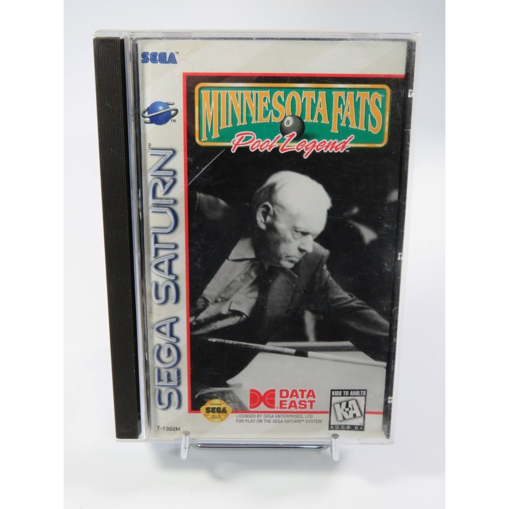MINNESOTA FATS POOL LEGEND SATURN NTSC-USA OCCASION