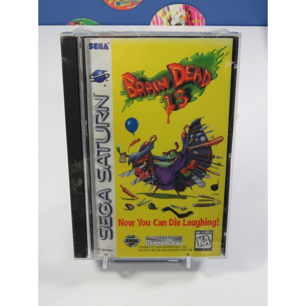 BRAIN DEAD 13 SATURN NTSC-USA NEW