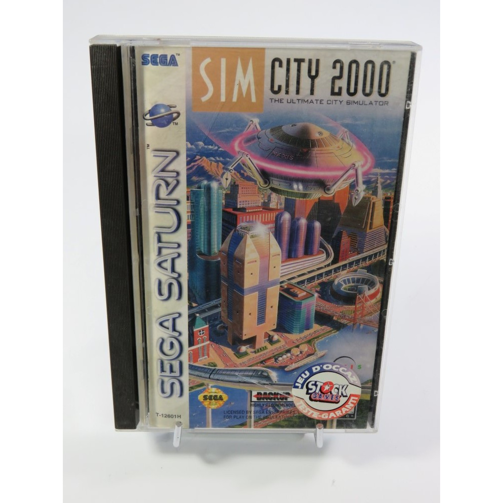 SIM CITY 2000 SATURN NTSC-USA OCCASION