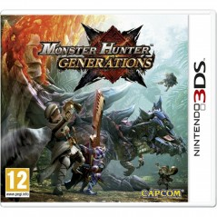 MONSTER HUNTER GENERATIONS 3DS PAL-FR NEW