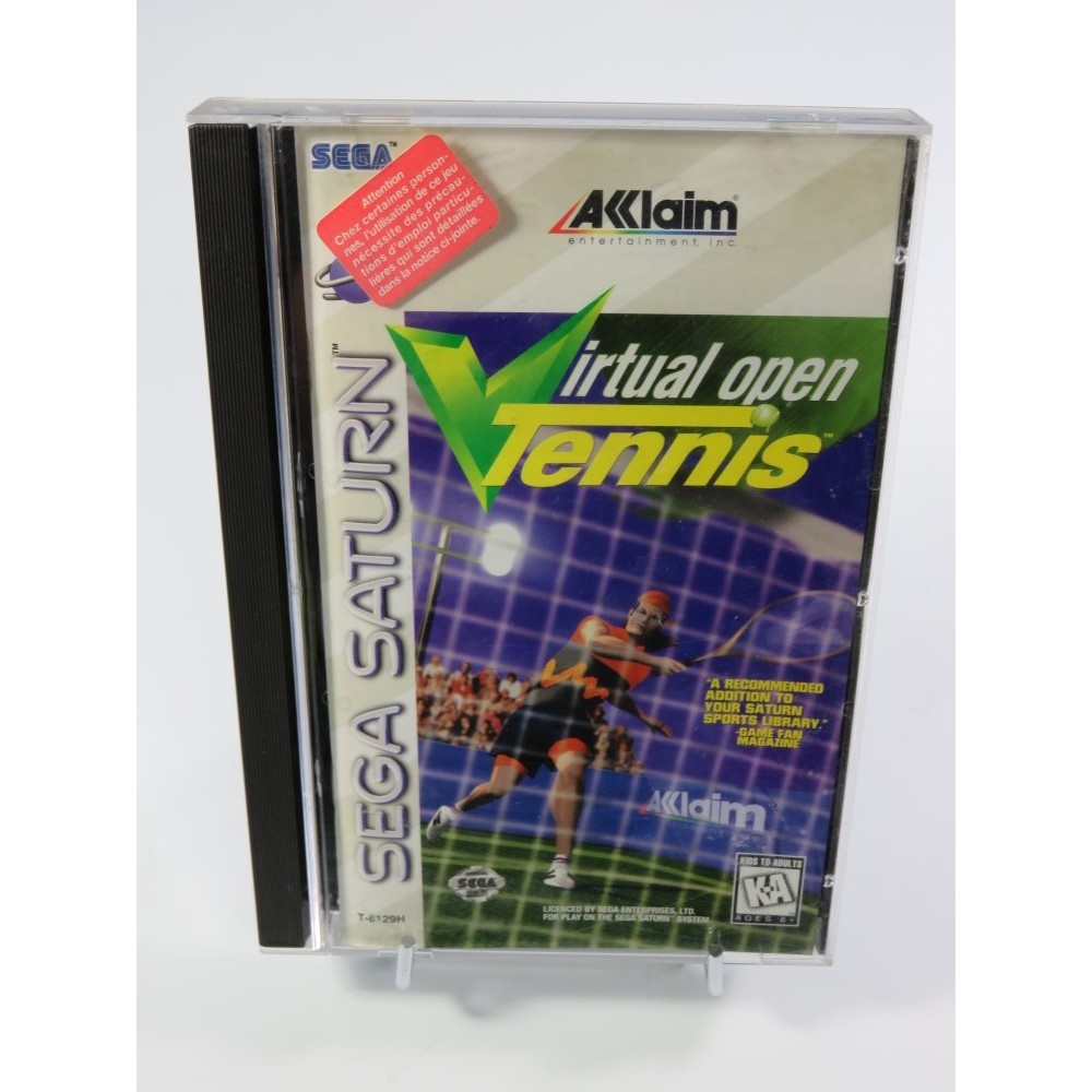 VIRTUAL OPEN TENNIS SATURN NTSC-USA OCCASION
