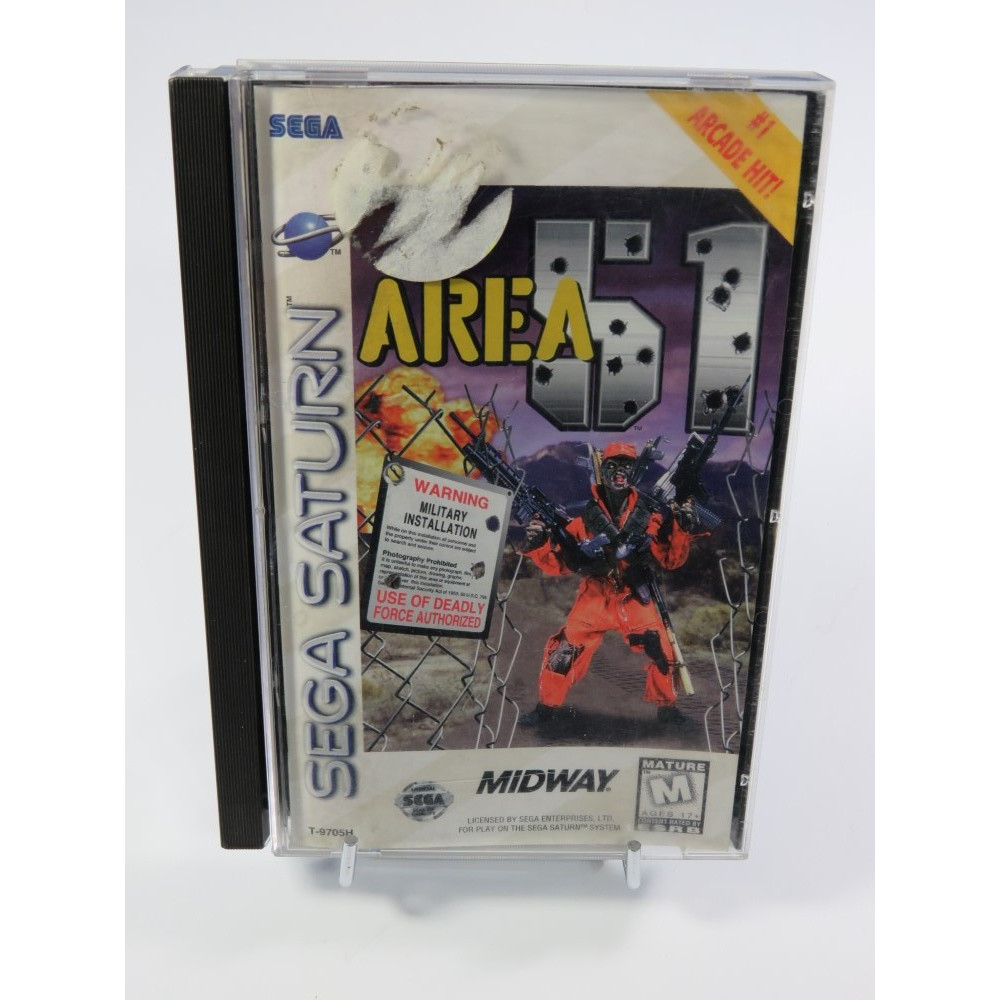 AREA 51 SATURN NTSC-USA OCCASION