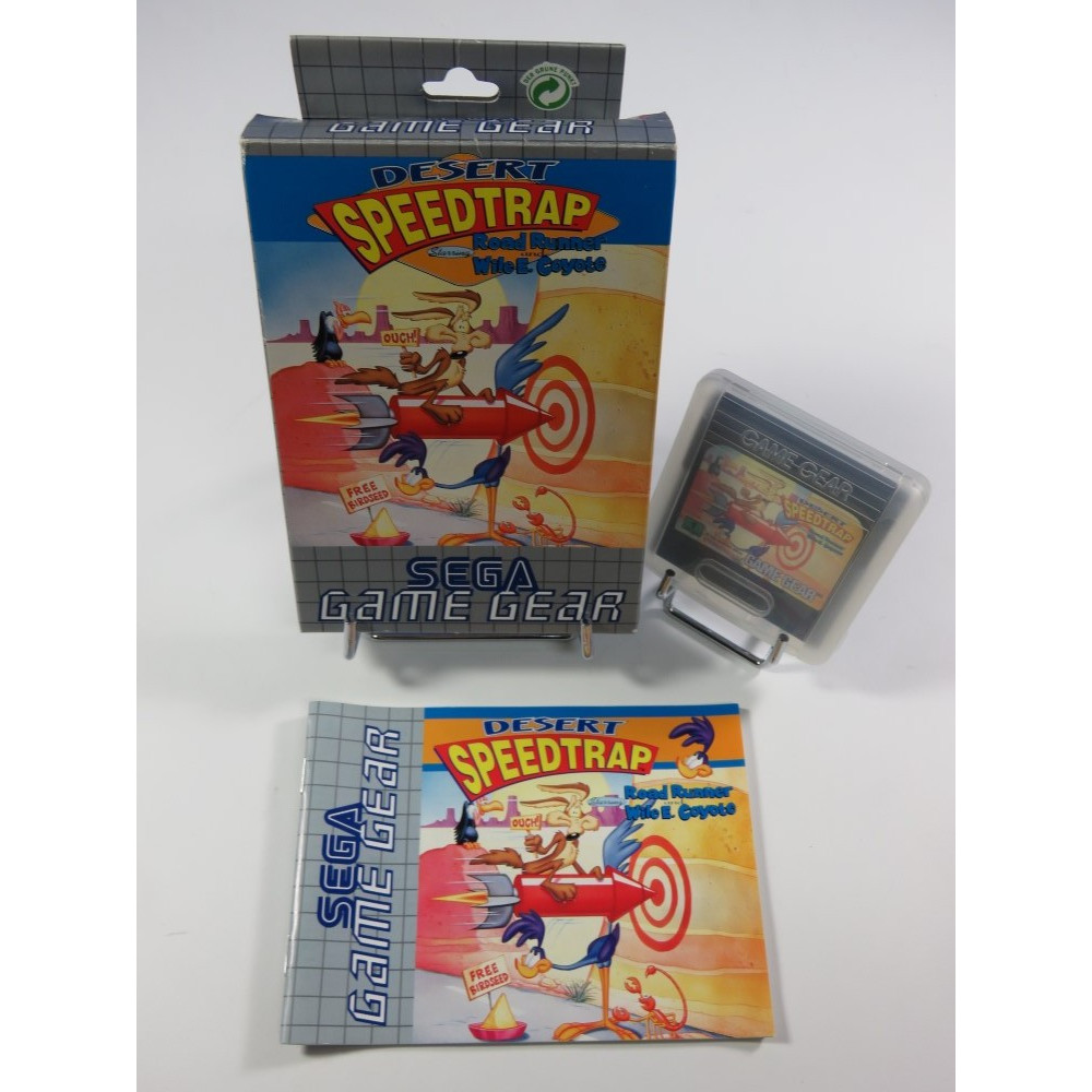 DESERT SPEEDTRAP STARRING ROAD RUNNER AND WILE E. COYOTE GAME GEAR EURO OCCASION