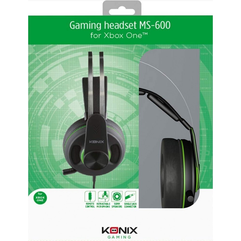 CASQUE MS 600 KONIX XBOX ONE NEW