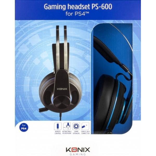 CASQUE PS-600 KONIX PS4 NEW