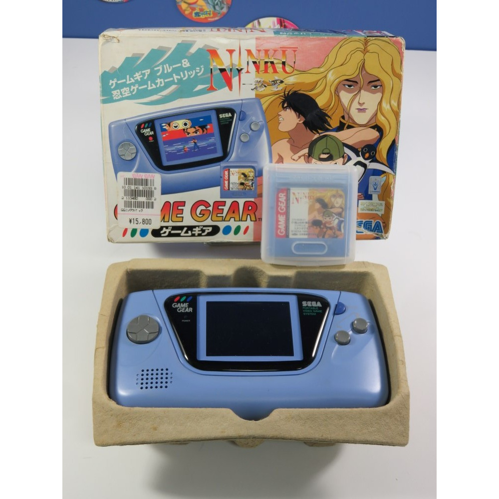 CONSOLE GAMEGEAR BLUE NINKU LIMITED JPN OCCASION