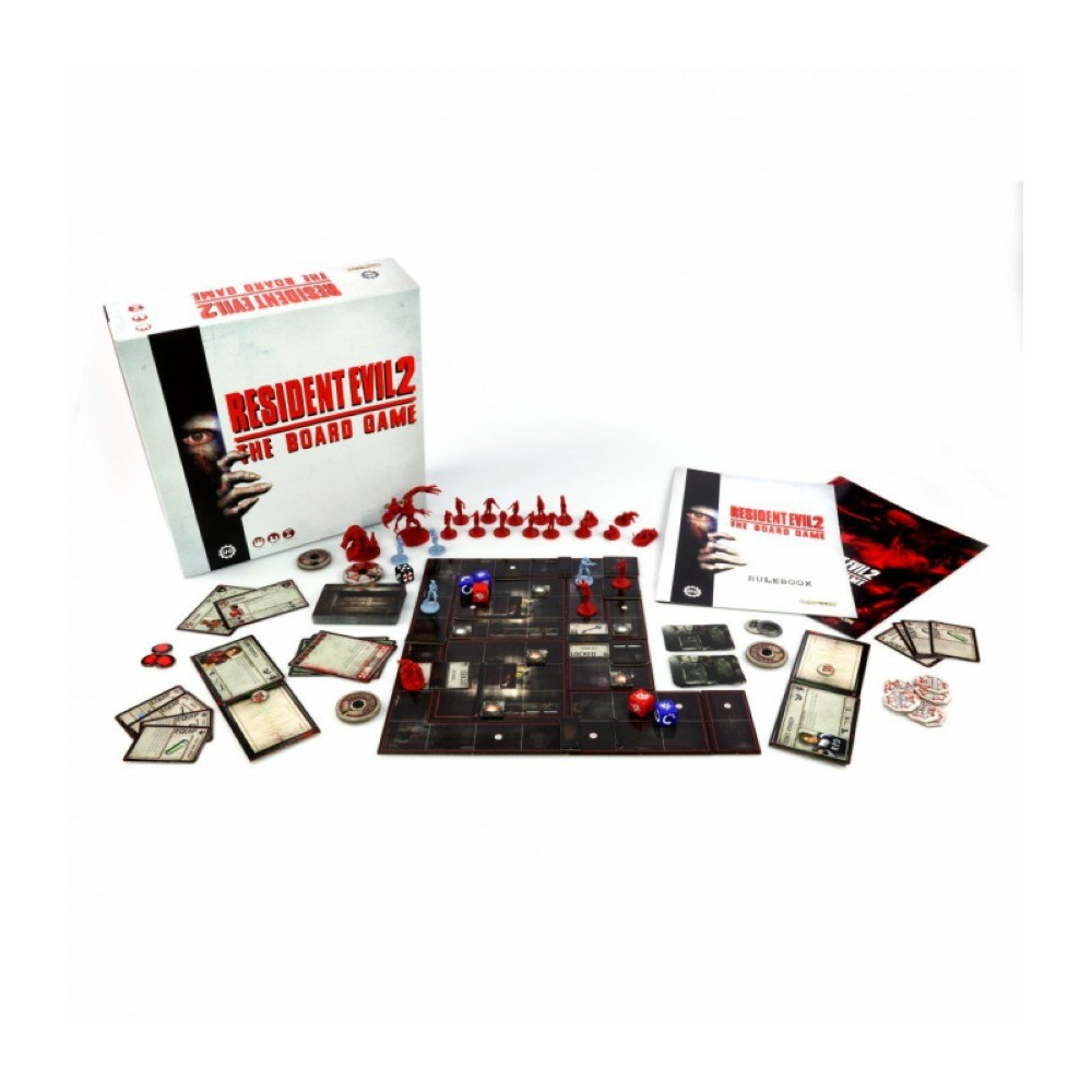 RESIDENT EVIL 2 THE BOARD GAME FRANCAIS NEW