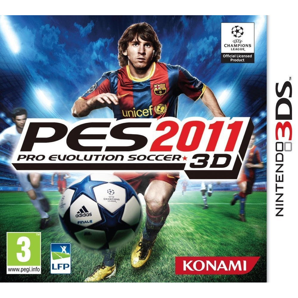 PES 2011 3DS VF
