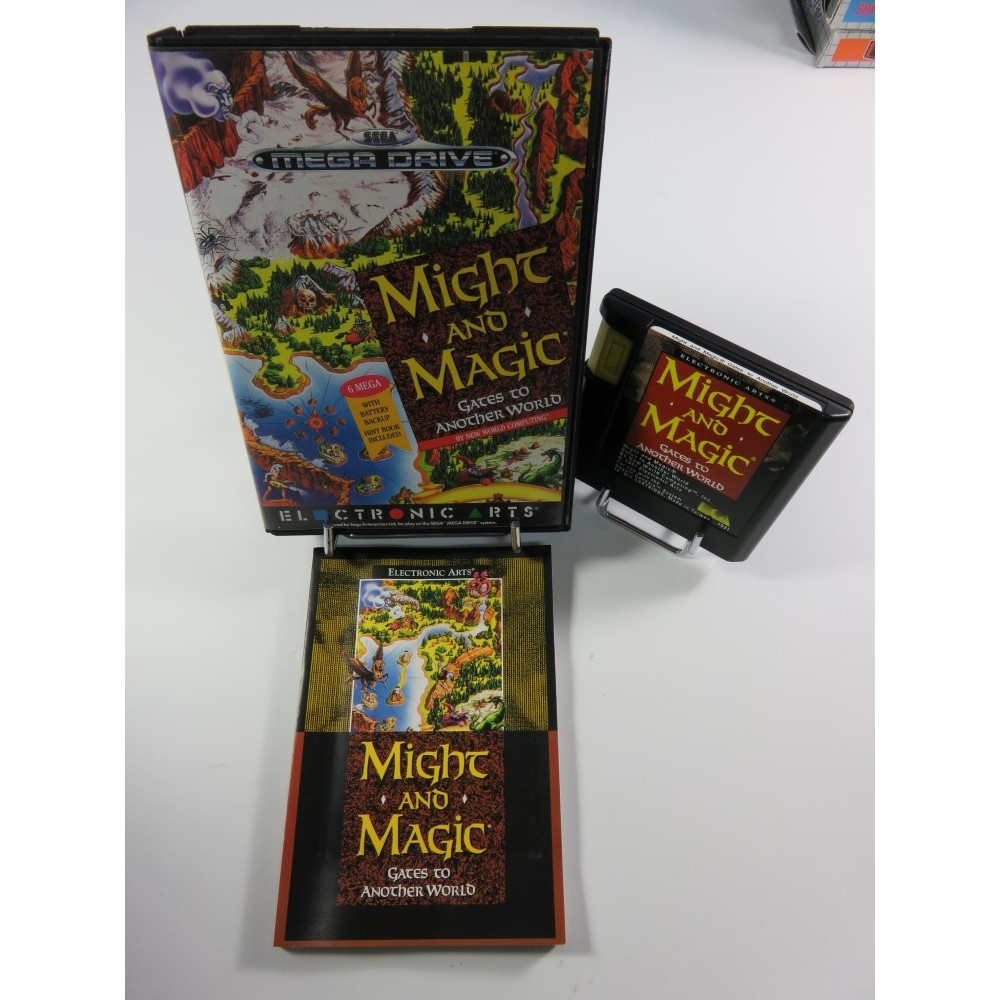 MIGHT AND MAGIC - GATES TO ANOTHER WORLD MEGADRIVE PAL-EURO OCCASION