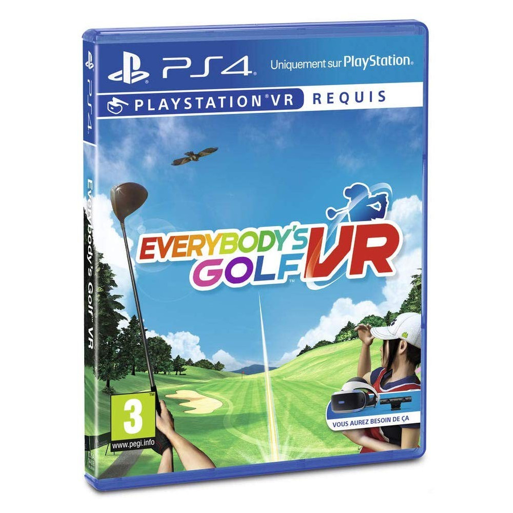 EVERYBODY S GOLF VR PS4 FR OCCASION