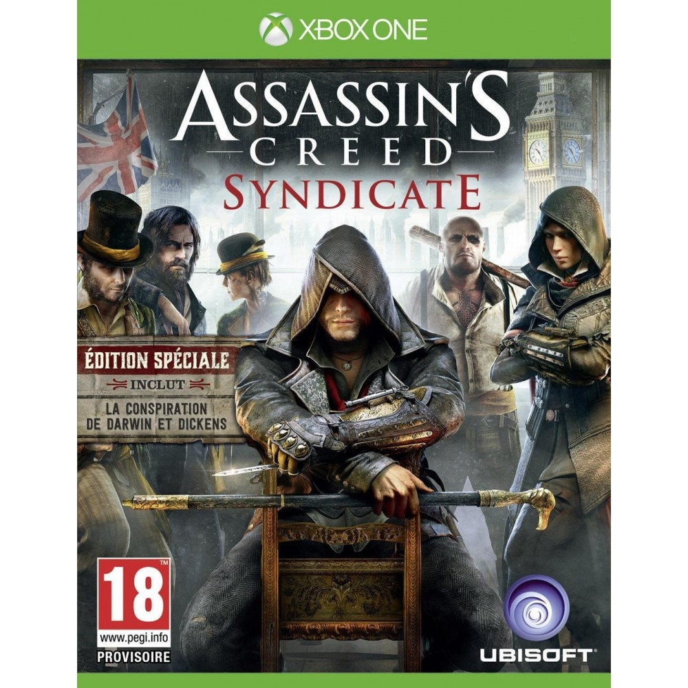 ASSASSIN S CREED SYNDICATE XONE FR OCCASION