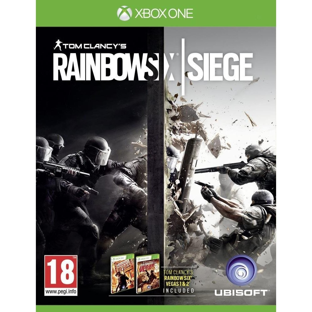 RAINBOW SIX SIEGE XONE PAL OCCASION