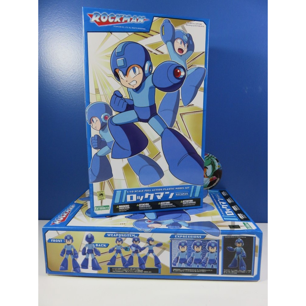 MEGA MAN 1/10 SCALE PLASTIC MODEL KIT JAP NEW
