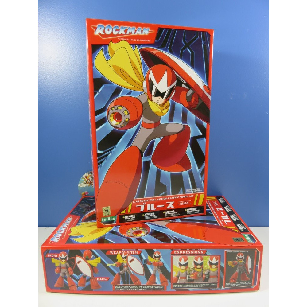 MEGA MAN 1/10 SCALE PLASTIC MODEL KIT: PROTO MAN REPACKAGE EDITION JAP NEW