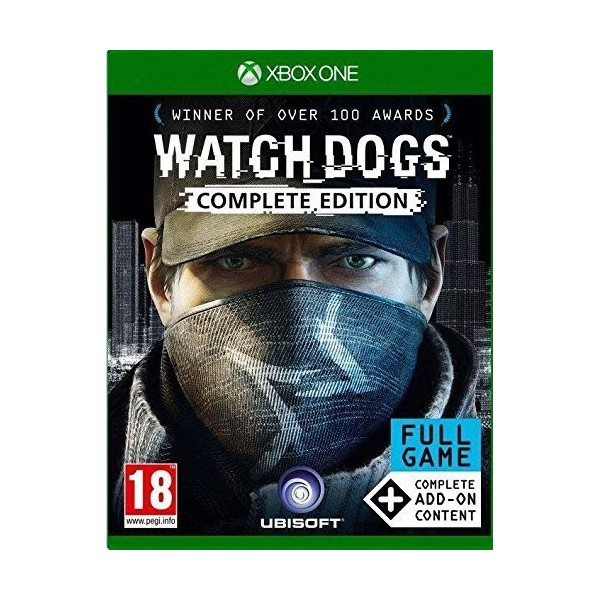 WATCH DOGS EDITION COMPLETE XBOX ONE OCCASION
