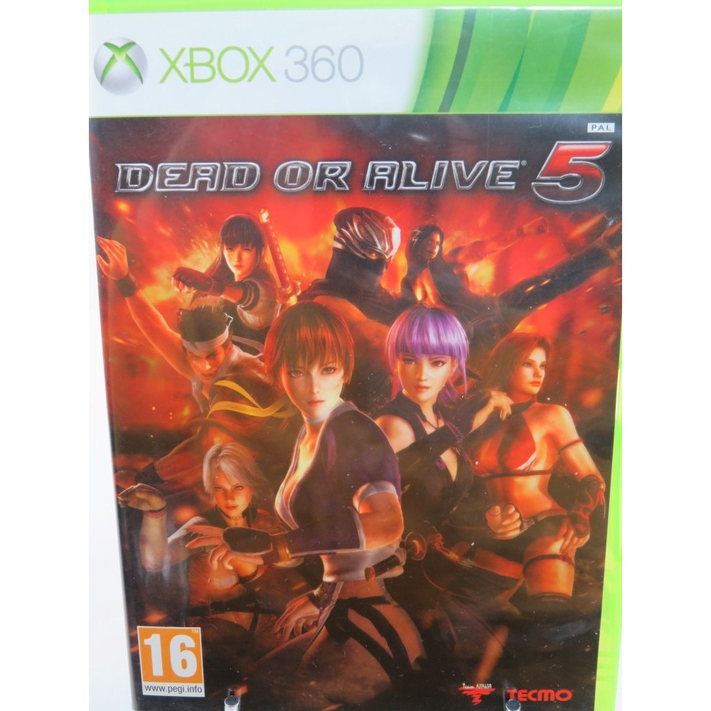 DEAD OR ALIVE 5 XBOX 360 PAL-UK OCCASION