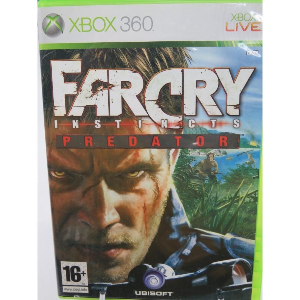 FARCRY INSTINCTS PREDATOR XBOX 360 PAL-FR OCCASION