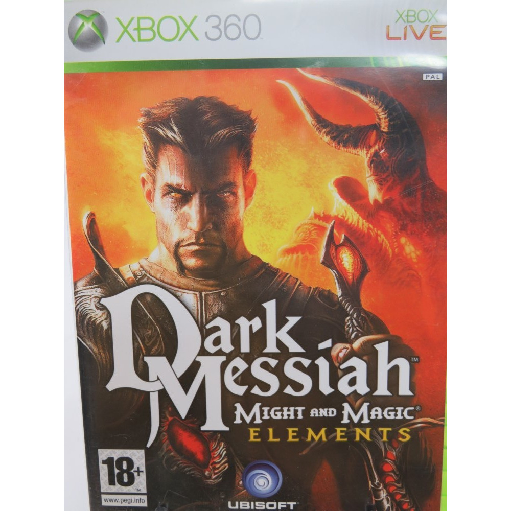 DARK MESSIAH MIGHT AND MAGIC ELEMENTS XBOX 360 PAL-FR OCCASION