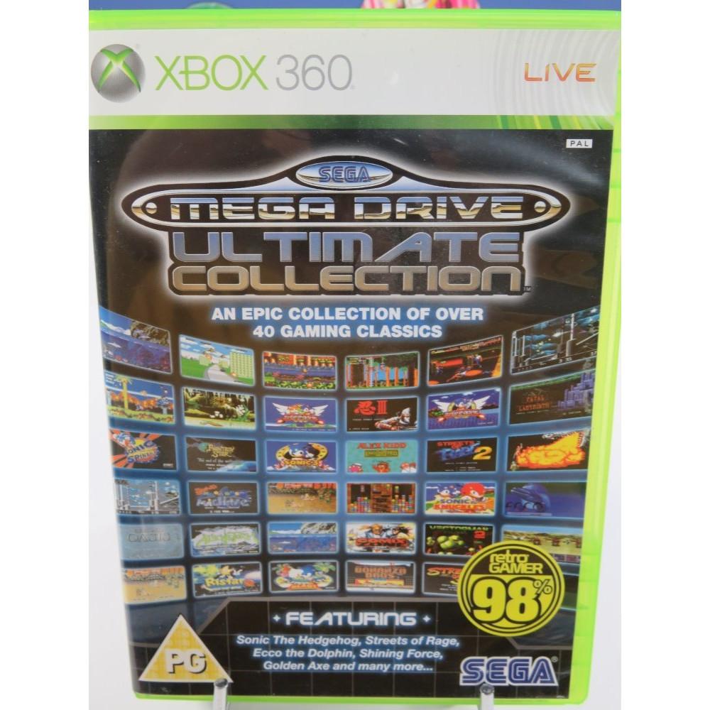 SEGA MEGA DRIVE ULTIMATE COLLECTION XBOX 360 PAL-UK OCCASION