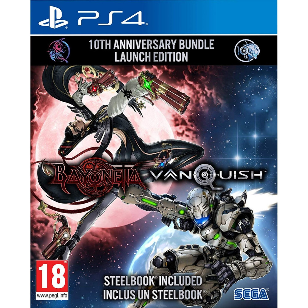 BAYONETTE & VANQUISH 10TH ANNIVERSARY BUNDLE LAUNCH EDITION PS4 FR NEW