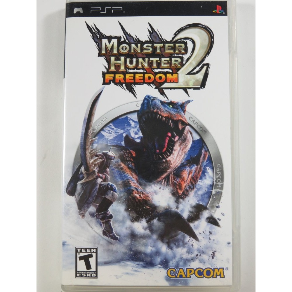 MONSTER HUNTER FREEDOM 2 PSP USA OCCASION