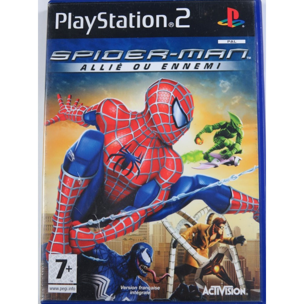 SPIDERMAN: AMI OU ENNEMI PS2 PAL-FR OCCASION