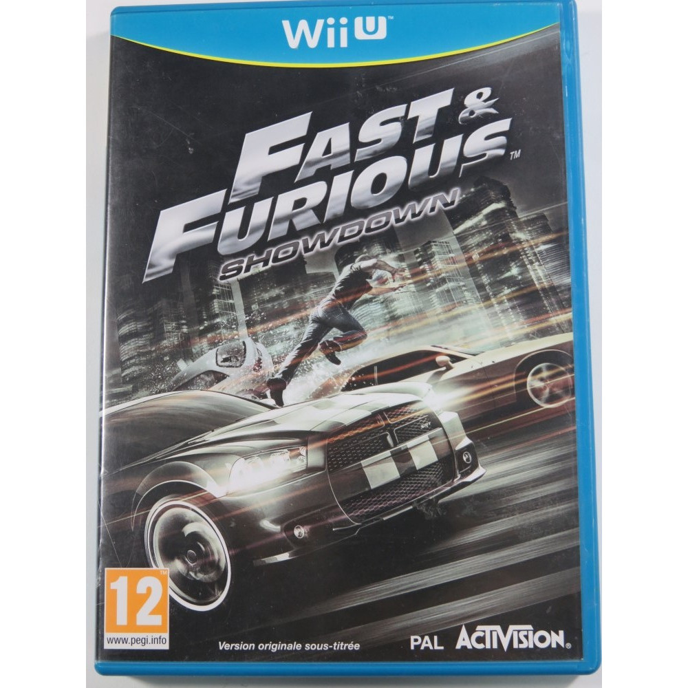 FAST & FURIOUS SHOWDOWN WIIU PAL-FR OCCASION