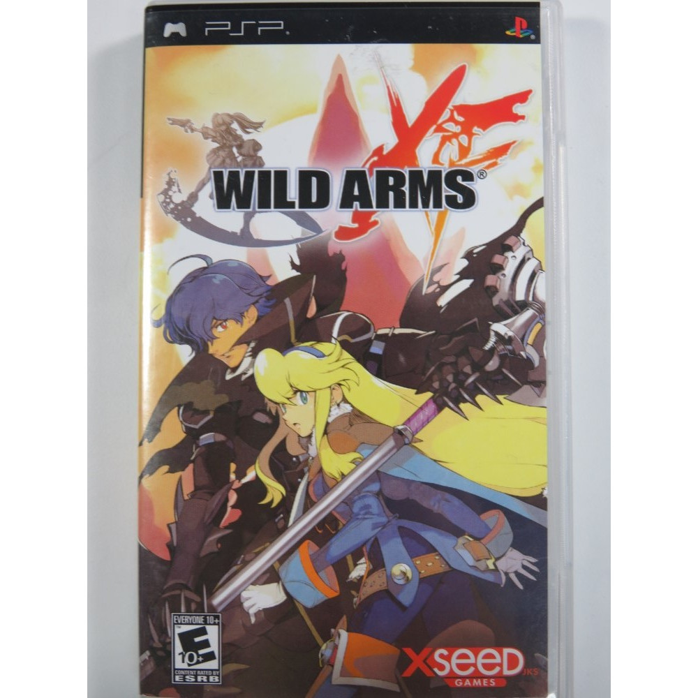 WILD ARMS XF PSP USA OCCASION