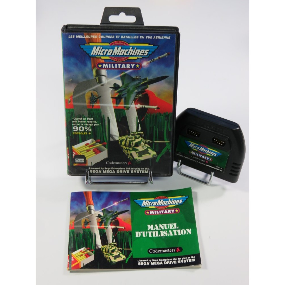 MICRO MACHINES - MILITARY MEGADRIVE PAL-FR OCCASION