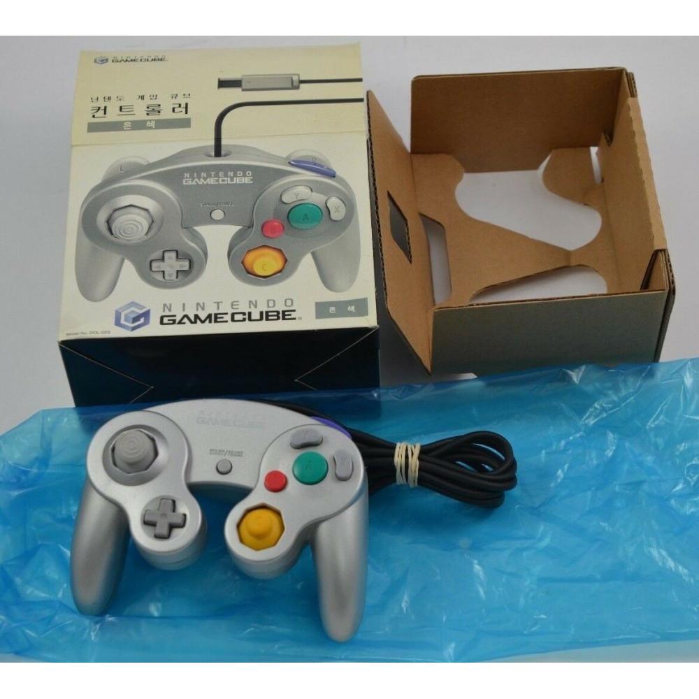 KOREAN Silver Controller Manette Nintendo GameCube KOR Dai Won Extremely RARE