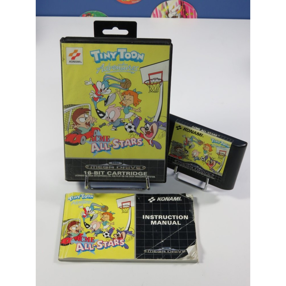 TINY TOON ADVENTURES ACME ALL-STARS MEGADRIVE PAL-EURO OCCASION