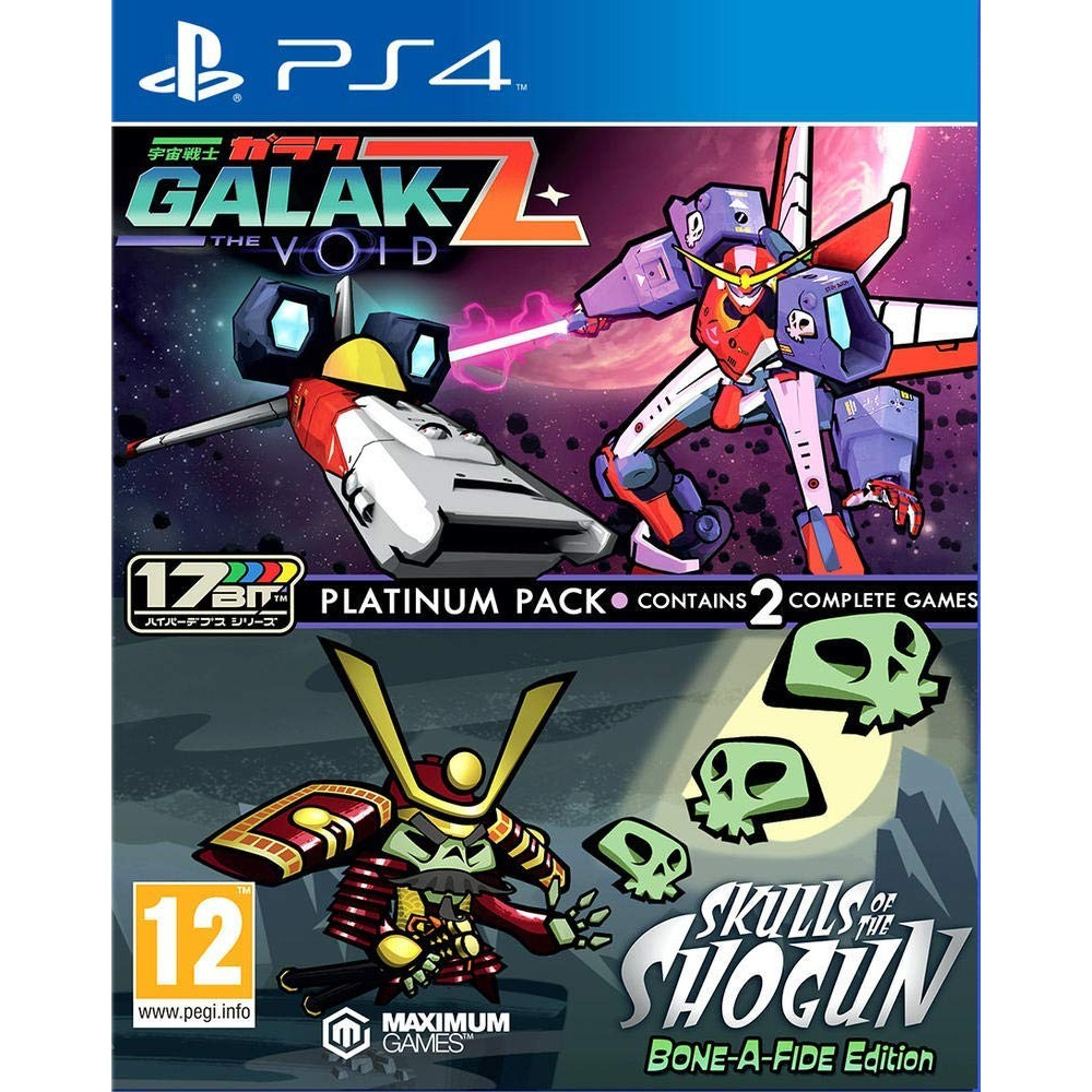 GALAK-Z THE VOID & SKULLS OF THE SHOGUN BON-A-FIDE EDITION PS4 UK NEW