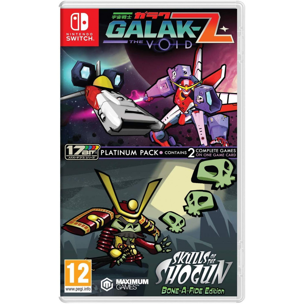 GALAK-Z THE VOID & SKULLS OF THE SHOGUN BON-A-FIDE EDITION SWITCH UK NEW