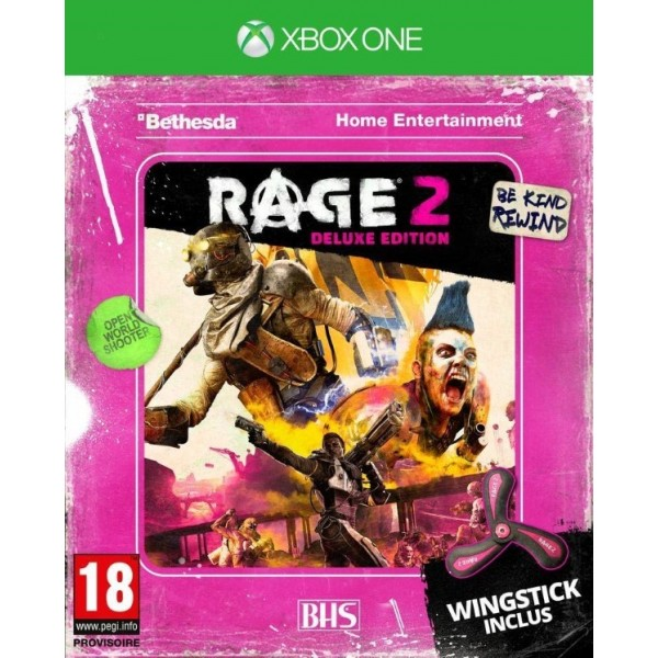 RAGE 2 DELUXE EDITION XBOX ONE FR OCCASION