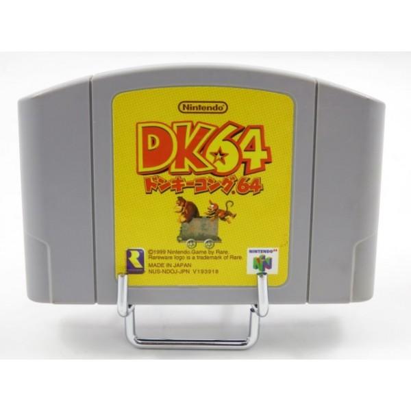 DONKEY KONG 64 NINTENDO 64 (N64) NTSC-JPN - (LOOSE- GOOD CONDITION)