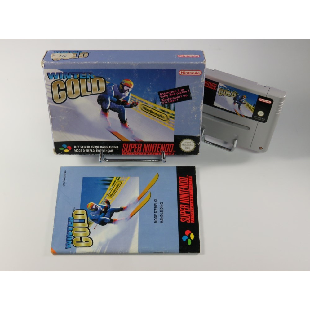 WINTER GOLD SNES PAL-FAH OCCASION