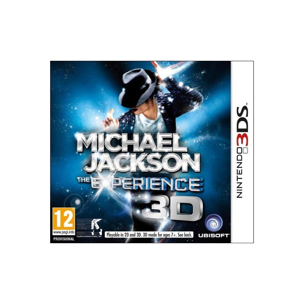 MICHAEL JACKSON 3DS UK NEW