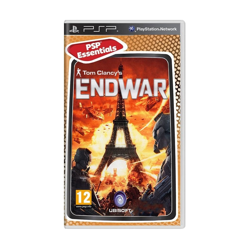 TOM CLANCY S END WAR (ESSENTIALS) PSP FR OCCASION