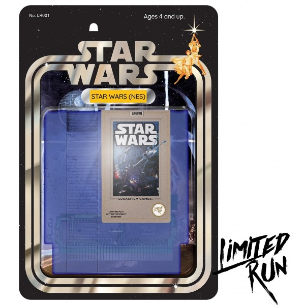 STAR WARS CLASSIC EDITION LIMITED RUN NES US NEW